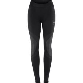Odlo Suw Performance Warm Bottom Pants Women black-odlo concrete grey
